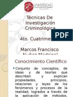 Tecnicas de Inv Criminologia