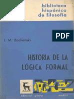 Bochenski - Historia de La Lógica Formal
