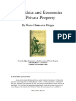 Hoppe -Economics and Ethics of Private Proerty