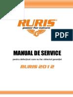 Ruris-manual de Service