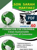 CSE COLOMBIA FUNDACION EMPRENDIMIENTO LIMPIO SUSTENTABLE Y SOSTENIBLE.ppt