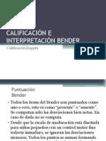 Calificación Bender Koppitz