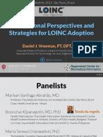 2015 08 19 - LOINC International Perspectives Panel