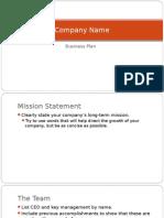 Business Marketing Plan Template - 3