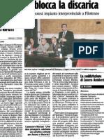 20100226 CA - Il Tar Non Blocca La Discarica[1]