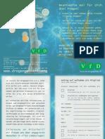 Party Drogen Info Flyer des VfD