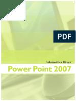 Informatica Basica Power Point 2007