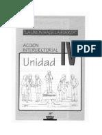 IV Unidad Accion Intersectorial