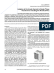A Method for Calculation of the Inrush Current in Single Phase Transformer including the Residual Flux