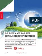 La Meta Crear Un Ecuador Sustentable CMC