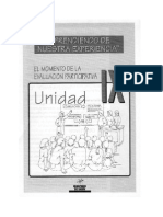 IX Unidad E LMomento de La Evaluacion Participativa