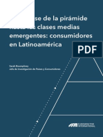 Base Pirámide Clases Medias Emergentes Consumidores en Latinoamérica