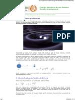 Energia Mecânica de Um Sistema Binário Gravitacional