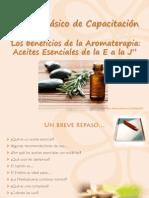 Módulo Los Beneficios de La Aromaterapia-AE E a J
