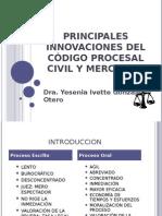 Principales Innovaciones Del Cpcm (1)