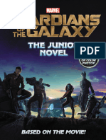 Guardians of the Galaxy- The Junior Novel (Retail)