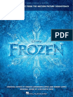 Frozen Songbook for Piano