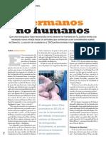 """Hermanos no humanos"" por Lorena Varela"