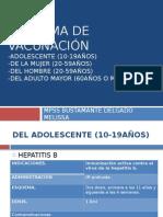 Esquema de Vacunación Parte 2