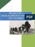 Migracion y Desplazamiento Forzado