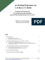Das Drug-Checking-Programm von Eve & Rave e.V. Berlin