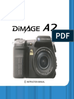 Konica Minolta Dimage A2 8MP Digital Camera With 7x Manual