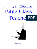 Being an Effective Bible Teacher MM