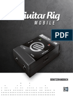 Guitar Rig Mobile IO Manual German