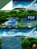 Ppt Energía Solar energia renovable