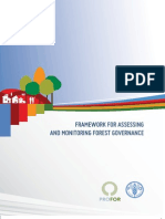 Fao-framework for Assessing-Forestgovernance Final