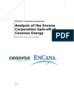 Encana Cenovus Financial Analysis
