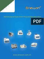 Sinowon Metallographic Specimen Preparation Machine