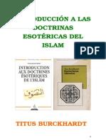 Burckhardt Titus - Esoterismo Islamico.DOC