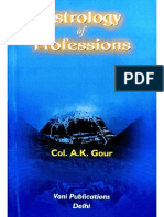 Astrology of Professions - A.k. Gour