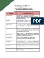 Temas de Investigacion-Maestria Ciencias Ing. Mecanica