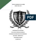 Programas de Gobierno y Paises