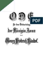 Handel - Eternal Source of Light Divine, HWV 74