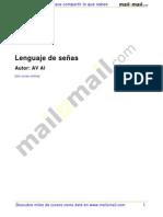 Lenguaje de Señas. Av Al -Mailxmail 29