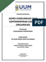 Aspek Komunikasi Dan Kepemimpinan Dalam Organisasi