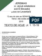 Jeremias 15 Mar 2015