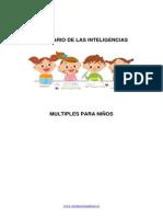 Inteligencias Multiples Inventario Para Niños y Niñas