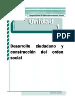 Libro de Desarrollo Ciudadano Primer Semestre 01