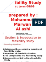 Introduction to Feasibility Studies 97
