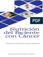 Nutricion Del Paciente Con Cancer