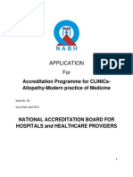 Application Form-Allopathic NABH