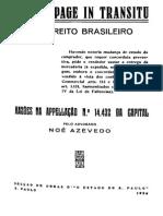 AZEVEDO, N. - Da Stoppage in Transitu No Direito Brasileiro, 1926