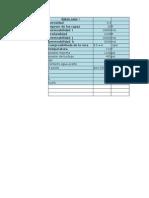 Proyecto Simulación Excel