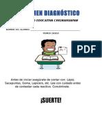 DIAGNOSTICO ESPAÑOL PRIMERO