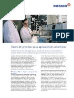 Gases Proceso Aplicaciones Analiticas