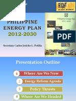 PEP 2012-2030 Presentation (Sec Petilla)